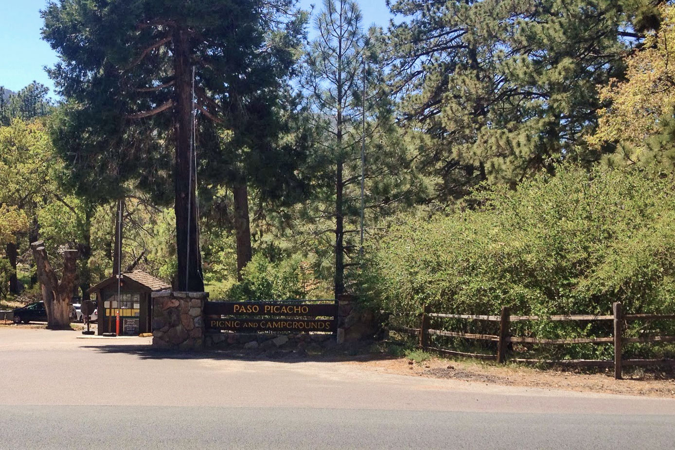 Cuyamaca Paso Picacho Campground