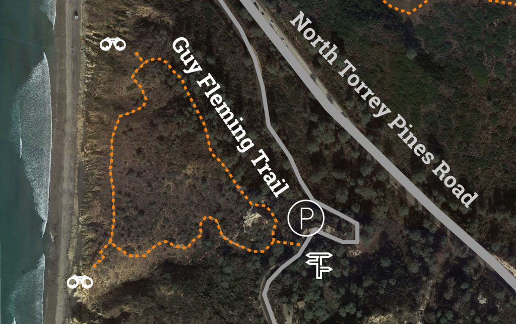 Torrey Pines Guy Flemming Trail Map